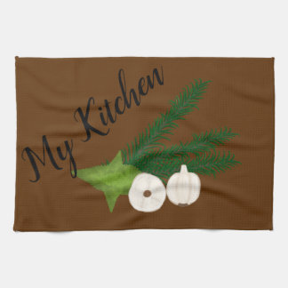 My Kitchen Herbs Kitchen Towel