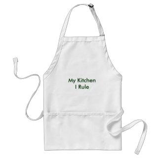 My Kitchen I Rule Standard Apron