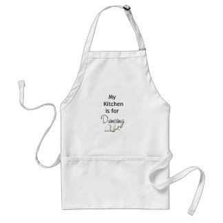 My Kitchen is for Dancing Standard Apron