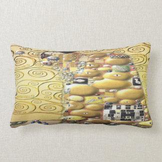 My Klimt Serie : Embrace Lumbar Pillow