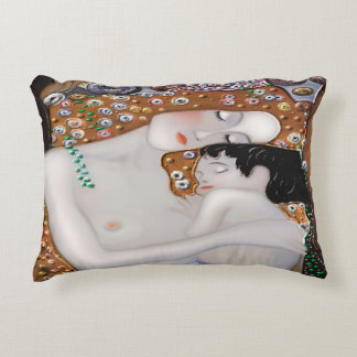 My Klimt Serie : Mother & Child Accent Pillow