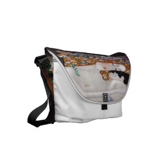 My Klimt Serie : Mother & Child Courier Bags