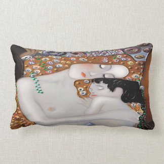 My Klimt Serie : Mother & Child Lumbar Pillow