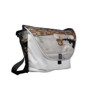 My Klimt Serie : Mother & Child Messenger Bag