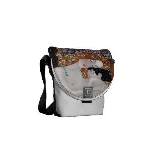 My Klimt Serie : Mother & Child Messenger Bags