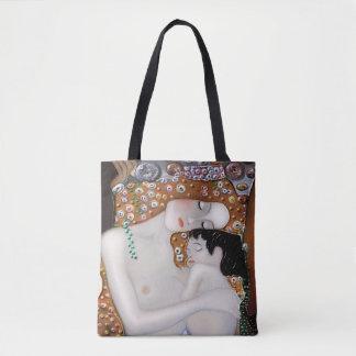 My Klimt Serie : Mother & Child Tote Bag