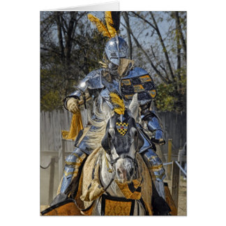My Knight in Shinning Armor Thank You Card