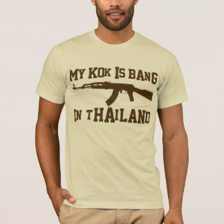 my KOK is BANG in THAILAND Brown T-Shirt