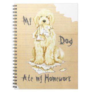 My Komondor Ate My Homework Notebook