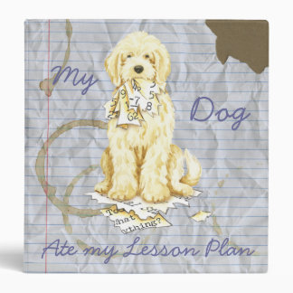 My Komondor Ate My Lesson Plan 3 Ring Binder