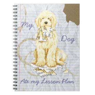My Komondor Ate My Lesson Plan Notebooks