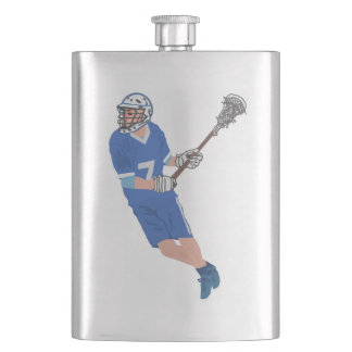 my lacrosse male player hip flask