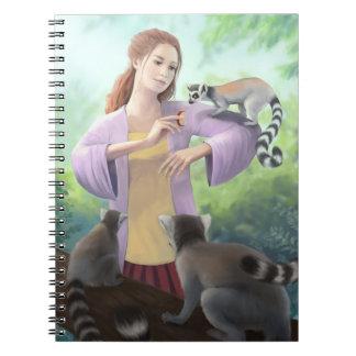 My Lemur Friends Note Books