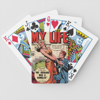 My Life Bicycle Playing Cards