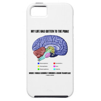 My Life Gotten To Point Consider Brain Transplant iPhone 5 Cases
