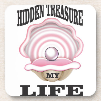 my life hidden treasure coaster