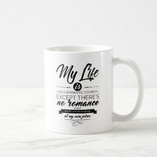 My Life is like a romantic comedy Coffee Mug
