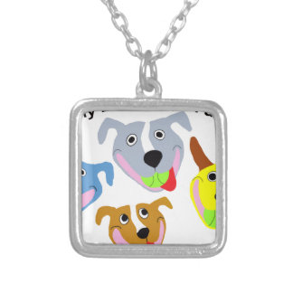 My Life is Pittie-full Silver Plated Necklace