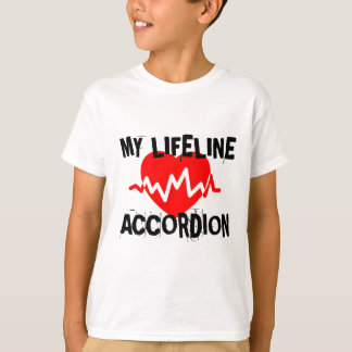 MY LIFE LINA ACCORDION MUSIC DESIGNS T-Shirt