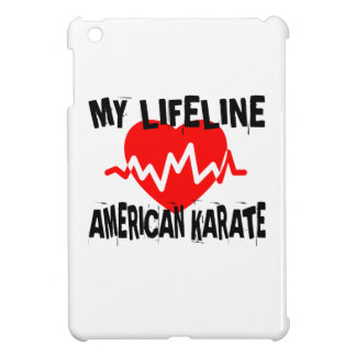 MY LIFE LINA AMERICAN KARATE MARTIAL ARTS DESIGNS COVER FOR THE iPad MINI