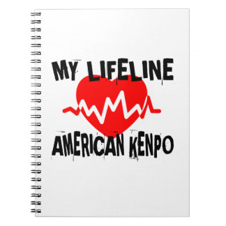 MY LIFE LINA AMERICAN KENPO MARTIAL ARTS DESIGNS NOTEBOOKS