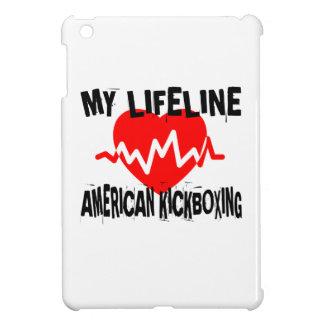 MY LIFE LINA AMERICAN KICKBOXING MARTIAL ARTS DESI iPad MINI CASE
