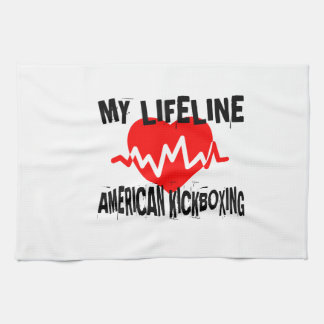 MY LIFE LINA AMERICAN KICKBOXING MARTIAL ARTS DESI KITCHEN TOWEL