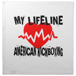 MY LIFE LINA AMERICAN KICKBOXING MARTIAL ARTS DESI NAPKIN