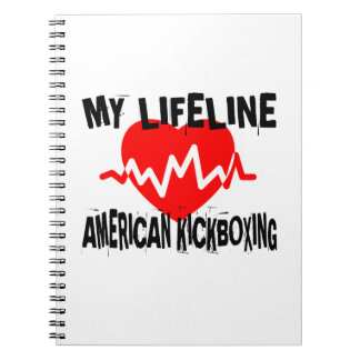 MY LIFE LINA AMERICAN KICKBOXING MARTIAL ARTS DESI NOTEBOOKS