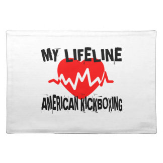MY LIFE LINA AMERICAN KICKBOXING MARTIAL ARTS DESI PLACEMAT