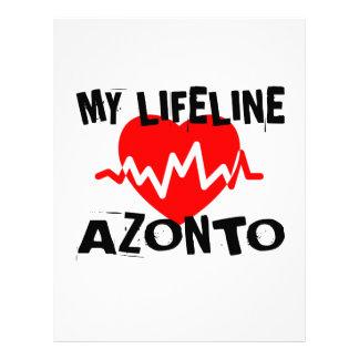 MY LIFE LINA AZONTO DANCE DESIGNS LETTERHEAD