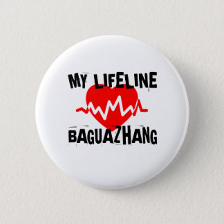 MY LIFE LINA BAGUAZHANG MARTIAL ARTS DESIGNS 2 INCH ROUND BUTTON