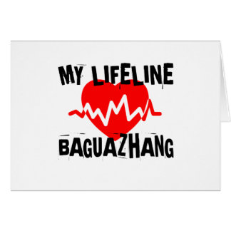 MY LIFE LINA BAGUAZHANG MARTIAL ARTS DESIGNS CARD