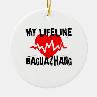 MY LIFE LINA BAGUAZHANG MARTIAL ARTS DESIGNS CERAMIC ORNAMENT