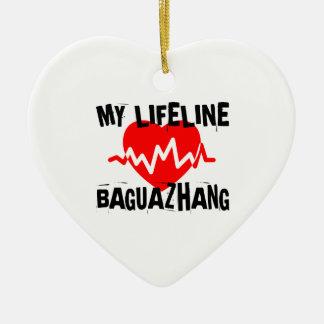 MY LIFE LINA BAGUAZHANG MARTIAL ARTS DESIGNS CERAMIC ORNAMENT