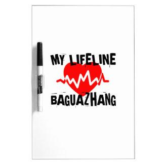 MY LIFE LINA BAGUAZHANG MARTIAL ARTS DESIGNS DRY ERASE BOARD