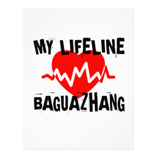 MY LIFE LINA BAGUAZHANG MARTIAL ARTS DESIGNS LETTERHEAD