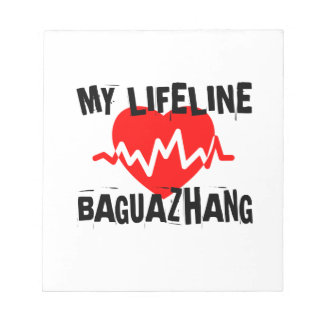 MY LIFE LINA BAGUAZHANG MARTIAL ARTS DESIGNS NOTEPAD