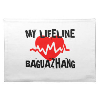 MY LIFE LINA BAGUAZHANG MARTIAL ARTS DESIGNS PLACEMAT