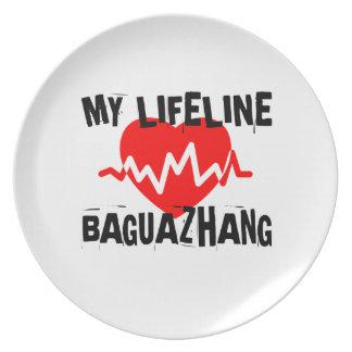 MY LIFE LINA BAGUAZHANG MARTIAL ARTS DESIGNS PLATE