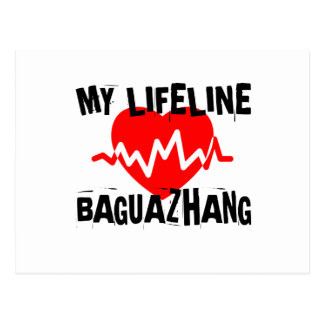 MY LIFE LINA BAGUAZHANG MARTIAL ARTS DESIGNS POSTCARD
