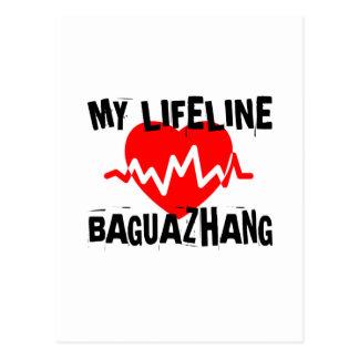 MY LIFE LINA BAGUAZHANG MARTIAL ARTS DESIGNS POSTCARD