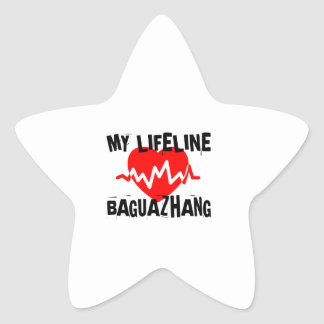 MY LIFE LINA BAGUAZHANG MARTIAL ARTS DESIGNS STAR STICKER