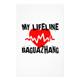 MY LIFE LINA BAGUAZHANG MARTIAL ARTS DESIGNS STATIONERY