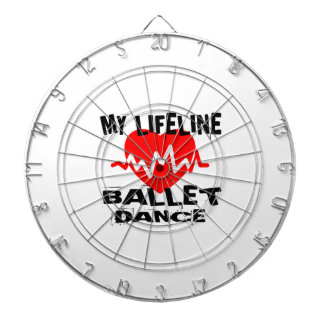 MY LIFE LINA BALLET DANCE DESIGNS DARTBOARD