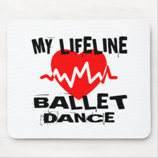 MY LIFE LINA BALLET DANCE DESIGNS MOUSE PAD