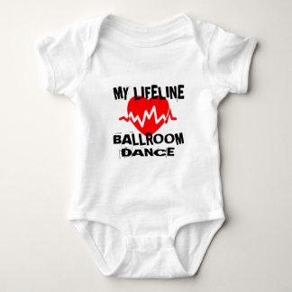 MY LIFE LINA BALLROOM DANCE DESIGNS BABY BODYSUIT