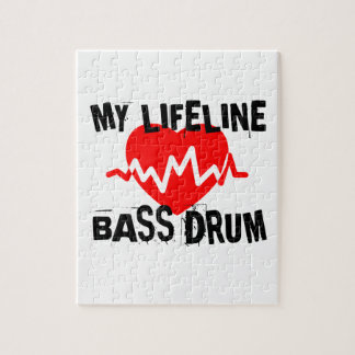 MY LIFE LINA BASS DRUM MUSIC DESIGNS JIGSAW PUZZLE