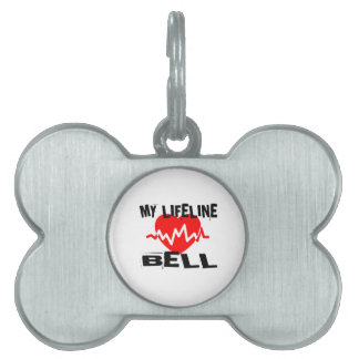 MY LIFE LINA BELL MUSIC DESIGNS PET TAG