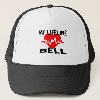 MY LIFE LINA BELL MUSIC DESIGNS TRUCKER HAT